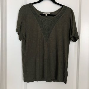 Express Tee with Embellishment
